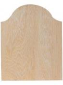 Drevená tabuľka 25 x 31 cm