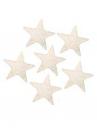 Drevené hviezdičky 3,5cm - 10 kusov