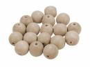 Drevená korálka - 15 mm
