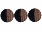 Drevená korálka kruh 15 mm - sada 8 ks