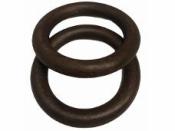 Drevený kruh 2 cm - mahagón