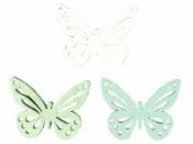 Drevené výrezy motýle - 3 ks - 2,5 cm