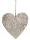 Drevené srdce 10cm - prírodné