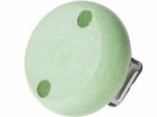 Drevený klip na cumlík 30 mm - pastelový zelený