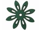 Drevený výrez kvet - 3,5cm - margarétka