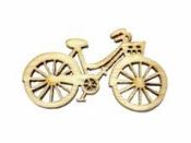 Drevený výrez 4 cm bicykel