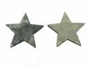 Drevený výrez hviezda 4cm - vintage šedá