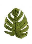 Drevený výrez list Monstera - 3,5 cm