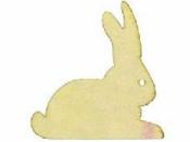 Dýhové výrezy 3 ks - zajac