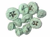 Eukalyptové plody farbené 10 ks - mentolové