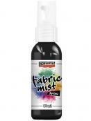 Fabric mist spray - farba na textil - 50ml - čierna
