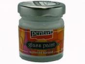Nevypaľovacia farba na sklo PENTART 30ml - biela perleť