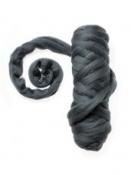 Farebná vlna - plsť 50g - antracitová