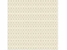 Filc 1 mm 30 x 30 vzorovaný - sivé retro kvety