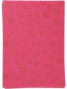 Filc 1 mm A4 - ružový so vzorom