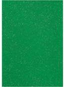 Filc 1 mm A4 - zelený s glitrami
