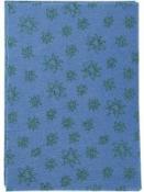 Filc 1 mm A4 - modrý so vzorom