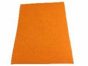 Filc 1 mm A4 - svetlý oranžový
