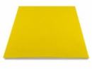 Filc 1 mm A4 - žltý