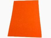Filc 1 mm A4 - neónový oranžový