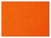 Filc 3 mm - 42 x 60 cm - oranžový
