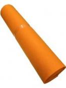 Filc 1 mm - 1 m - svetlý oranžový