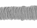 Filcová šnúra - sivá