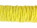 Filcová šnúra -  žltá