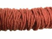 Filcová šnúra -  tehlová