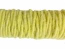 Filcová šnúra - pastelová žltá