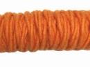 Filcová šnúra - oranžová