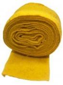 Filcová stuha 14 cm - slnečnicová žltá