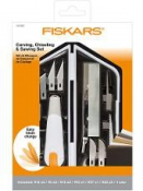 Kreatívny set Fiskars - rezák, dláto,pílka