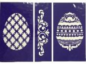 Flexibilná nalepovacia šablóna A5 - vajíčka