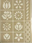 Flexibilná nalepovacia šablóna A5 - kvety