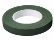 Floristická fixačná páska 13mm - tmavá zelená