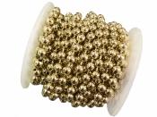 Korálková girlanda - zlatá