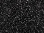 Samolepiaca glitrová machová guma - čierna