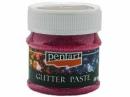Glitrová pasta jemná 50 ml - cyklaménová