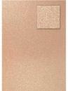 Glitrovaný papier - kartón 200g - pieskový