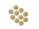 Drevené gombíky 20 mm - 10 ks