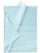 Hodvábny papier 25 kusov - svetlý modrý