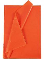 Hodvábny papier 50x70cm - oranžový