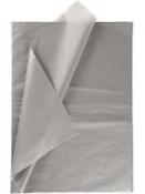 Hodvábny papier 25 kusov - sivý