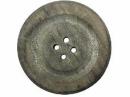 Jumbo drevený gombík 24 cm - vintage šedý