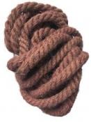 Jutový špagát - lano - 1,5 cm - staroružové