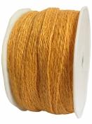 Jutová šnúra plochá 12mm - slnečnicová žltá