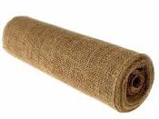 Textília juta -  behúň 28 cm x 5m - prírodná hnedá