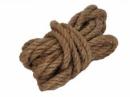 Jutový špagát - lano - 1 cm - prírodné