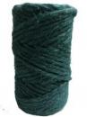 Jutový špagát - 200g - borovicová zelená